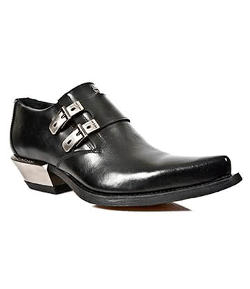 New Rock M.7934-S1 West Shoe (Black)