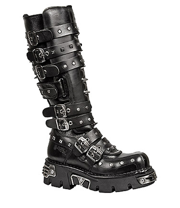 New Rock M.796-S1 Reactor High Boots (Black)