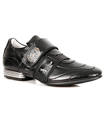 New Rock M.8401-S1 Snob Shoes (Black)