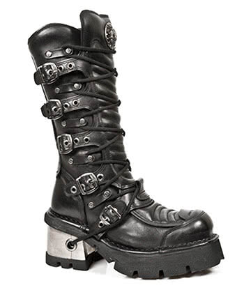 New Rock M.991-S1 M8 High Boots (Black)