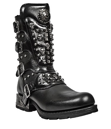 New Rock M.MR019-S1 Motorock Boots (Black)