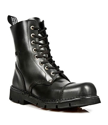 New Rock M.NEWMILI083-S1 Half Boots (Black)
