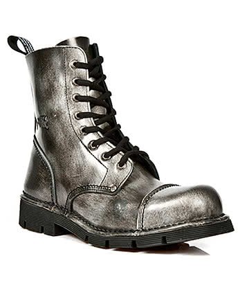 New Rock M.NEWMILI083-S2 Half Boots (Antique Grey)