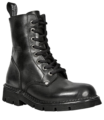 New Rock M.NEWMILI084-S1 Half Boots (Black)