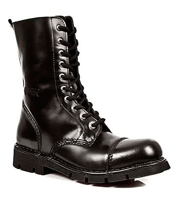 New Rock M.NEWMILI10-S1 Calf Boots (Black)