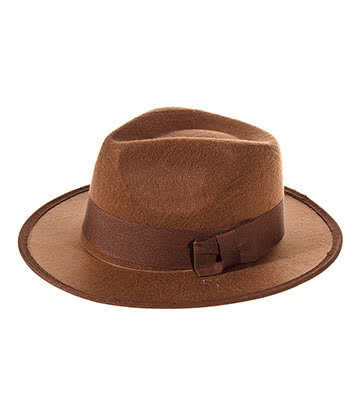 Cappello Da Esploratore Fancy Dress (Marrone)