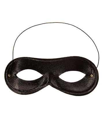 Blue Banana Domino Mask (Black)