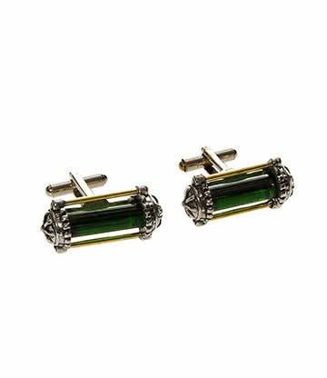 Alchemy Gothic Miasmatic Reactor Core Cufflinks
