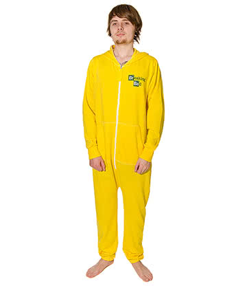 Breaking Bad Cooksuit Onesie (Yellow)