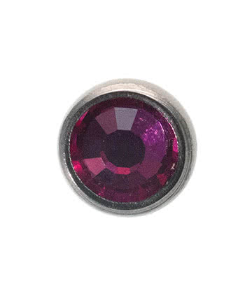 Blue Banana Surgical Steel 5mm Dermal Top (Fuchsia)