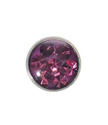 Blue Banana 5mm Glitter Dermal Top (Rose)