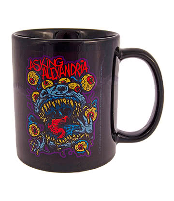 Official Asking Alexandria Eyeballs Mug (Black)