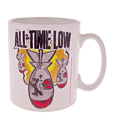 Official All Time Low Dabomb Mug (White)