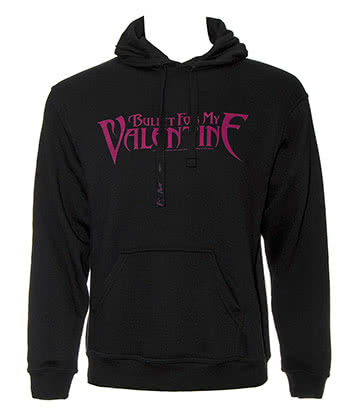 Bullet For My Valentine Logo Pull A Capuche (Noir)