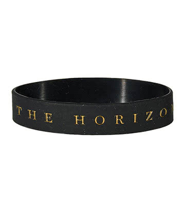 Official Bring Me The Horizon Logo Wristband (Black)