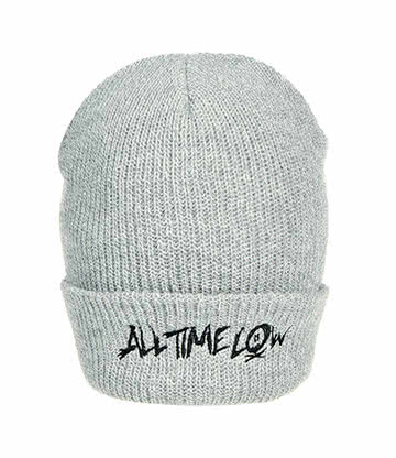 All Time Low Logo Beanie (Grau)