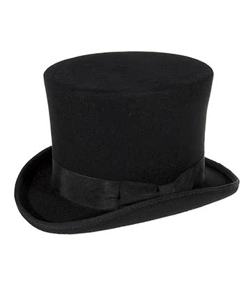Major Wear Topper Chapeau Haut De Forme (Noir)