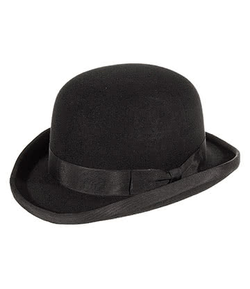 Major Wear Bowler Chapeau Melon (Noir)