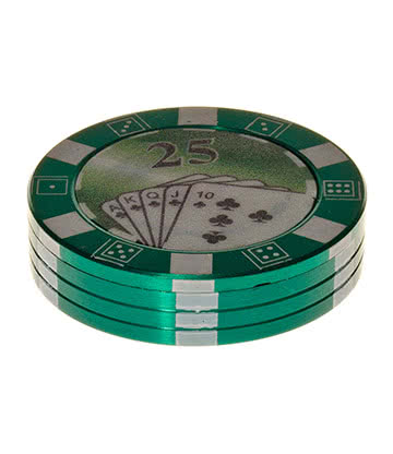 Blue Banana 2PT Poker Chip Grinder (Green)