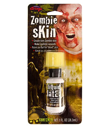 Tube De Latex Liquide Pour Maquillage Halloween Fausses Blessures Zombie