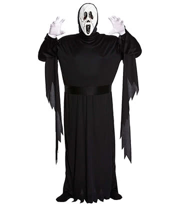 Blue Banana Demon Ghost Plus Size Fancy Dress Costume (Black)