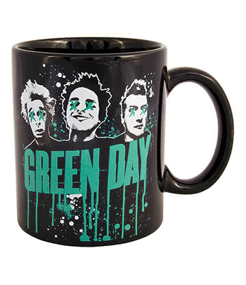 Official Green Day Mug (Black)