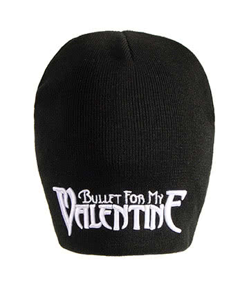 Official Bullet For My Valentine Logo Beanie (Black)