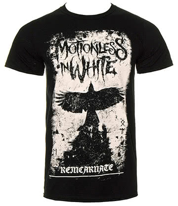 Motionless In White Phoenix T Shirt (Schwarz)