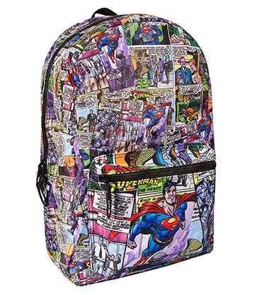 DC Comics Superman Fly Backpack (Multicoloured)