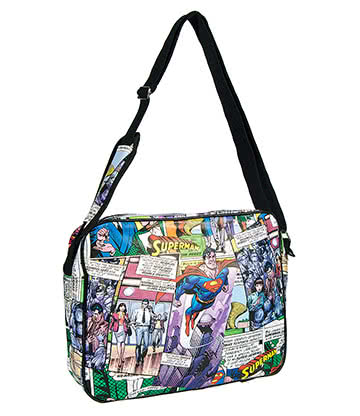 DC Comics Superman Fly Messenger Bag (Multi Coloured)