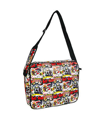 DC Comics Batman Comic Messenger Bag (Multi Coloured)