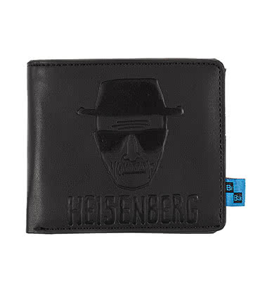 Breaking Bad Heisenberg Wallet (Black)