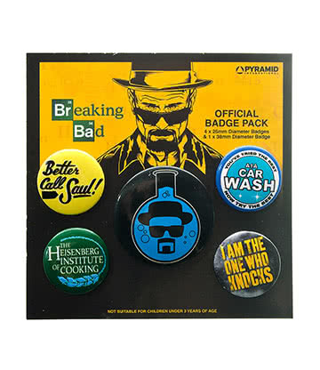 Breaking Bad Flask Badge Pack
