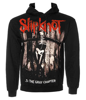 Slipknot Gray Chapter Felpa Con Con Cappuccio (Nero)
