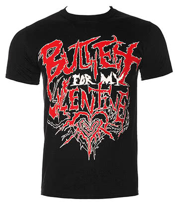 Official Bullet For My Valentine Doom T Shirt (Black)