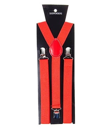 Blue Banana Braces (Red)
