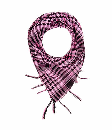Blue Banana PLO Scarf (Pink/Black)