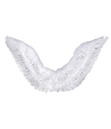 Blue Banana Feather Wings (White)