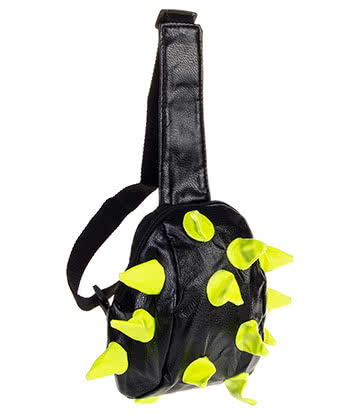 Blue Banana Spike Sling Bag (Yellow/Black)