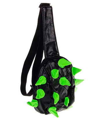 Blue Banana Spike Sling Bag (Green/Black)