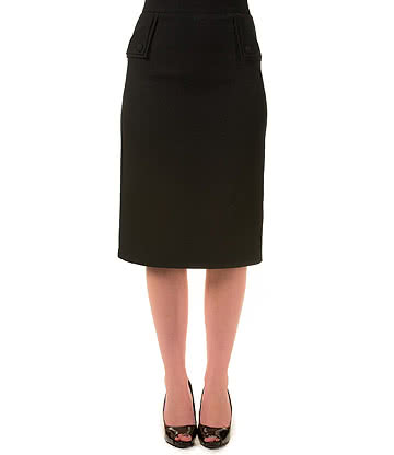 Banned Tori Pencil Skirt (Black)