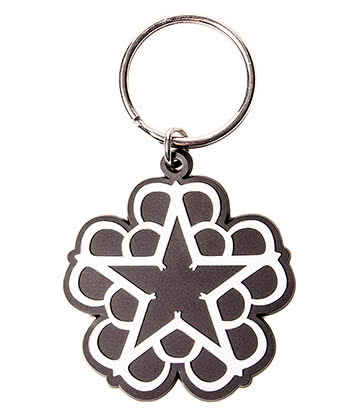 Official Black Veil Brides Star Keyring