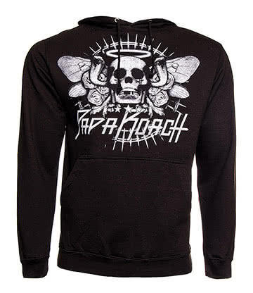 Official Papa Roach Cobra Skull Hoodie (Black)