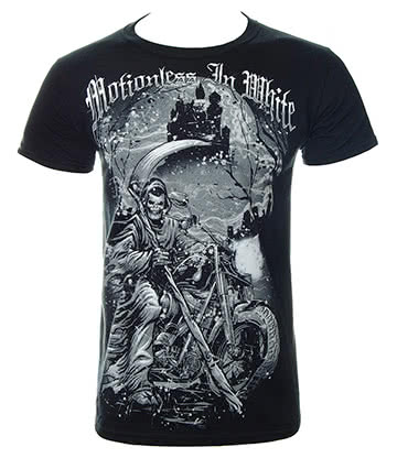 Official Motionless In White Reaper T Shirt (Black)