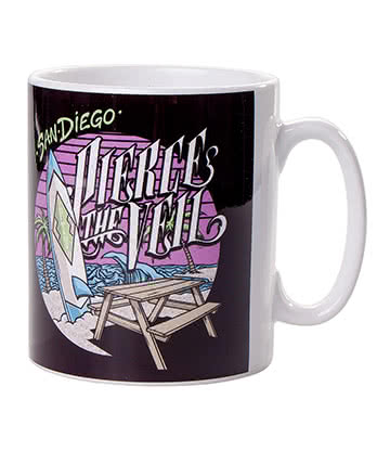 Official Pierce The Veil Beach Mug (Multicoloured)