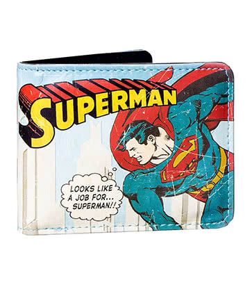 DC Comics Superman Wallet In A Tin (Blue)