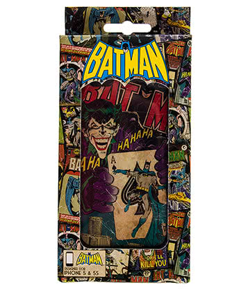 DC Comics Batman Joker Vintage iPhone 5 & 5s Phone Case (Multicoloured)
