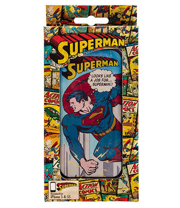 DC Comics Superman Vintage iPhone 5 & 5s Phone Case (Multicoloured)