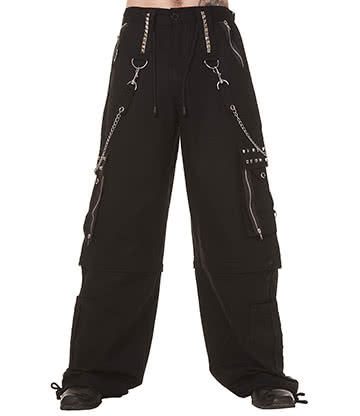 Dead Threads Chain Zip Studs Trousers (Black)