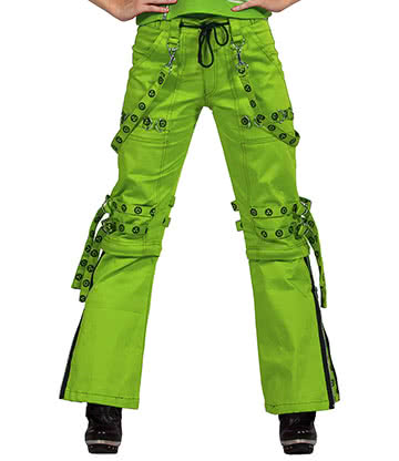 Dead Threads Women's Neon Trousers (Green)